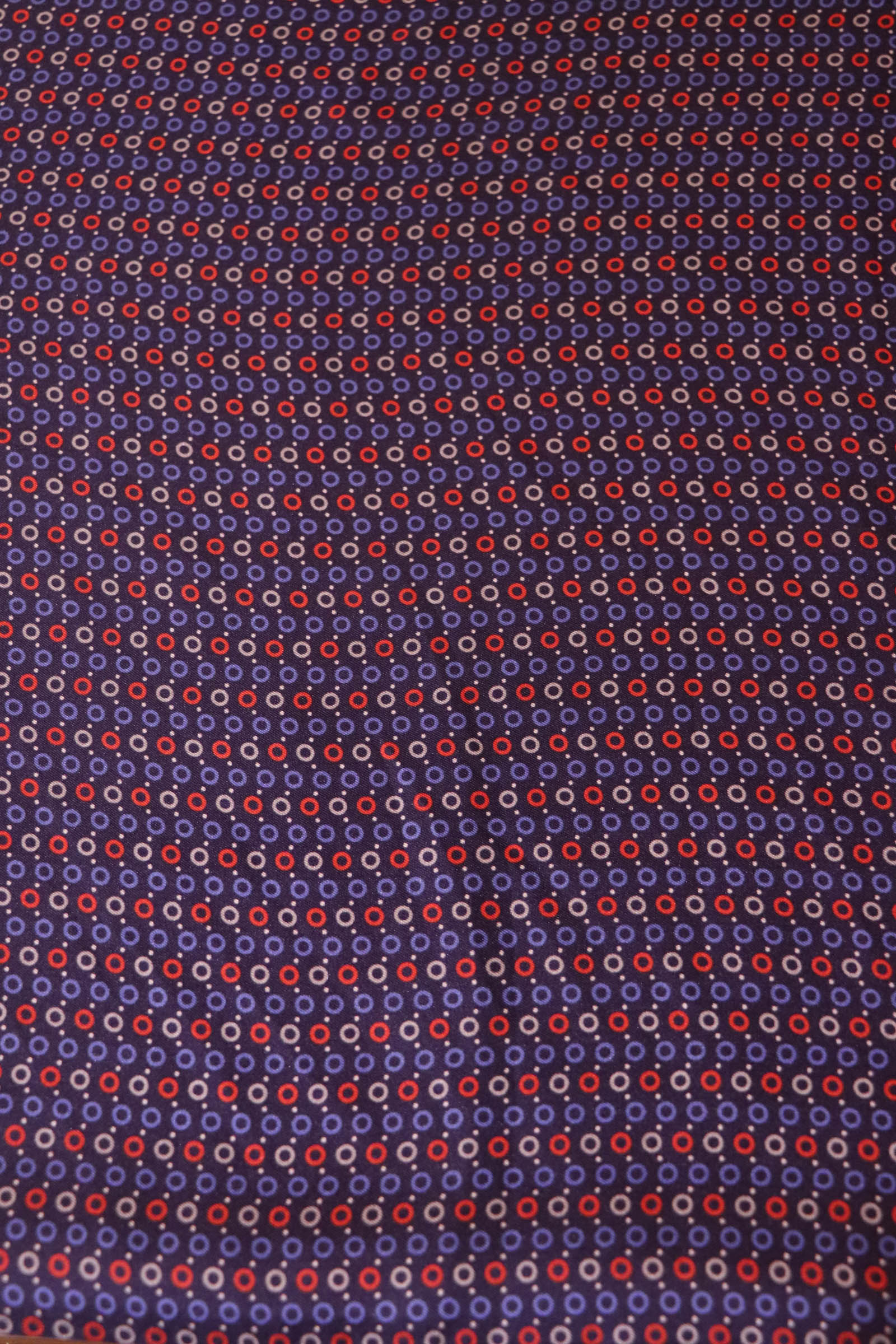 Exquisite Pure Printed Twill Silk Fabric- Width-44-Inches