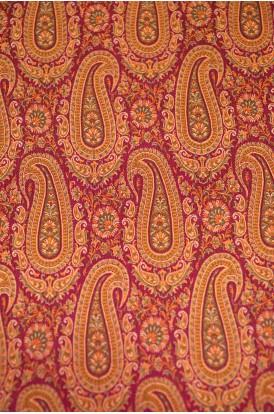 Handloom Exlcusive Pure Silk Jamawar Fabric W-44-45 Inches