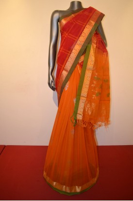 EXCLSUIVE & SPECIAL PATLI COTTON SILK SAREE