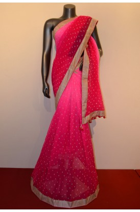 Party Wear Designer EmbroiderySaree