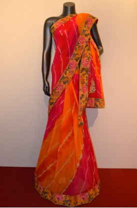 Party Wear Designer Embroidery Saree