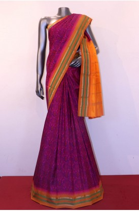 Exclusive Prints Pure Printed Silk Saree