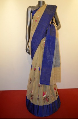 Pure Party Wear Cotton Saree