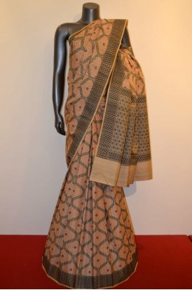 Special Handloom Grand Tussar Pure Silk Saree