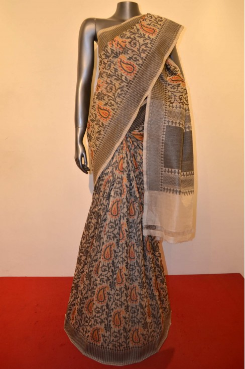 Exquisite Master Thread Weave Banarasi Silk Saree
