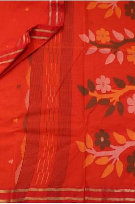 Classic Handloom Bengal Cotton Saree