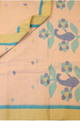 Classic Handloom Bengal Cotton Saree