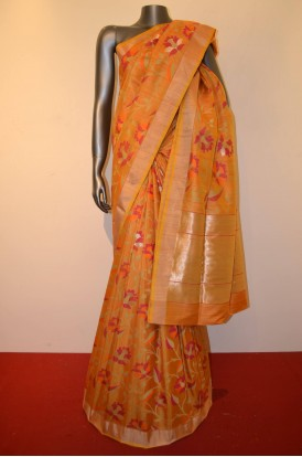 Contemporary Tussar Silk Saree