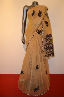 Party Wear Pure Cotton Saree
