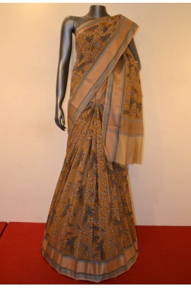 Special Exclusive Print  Cotton Saree