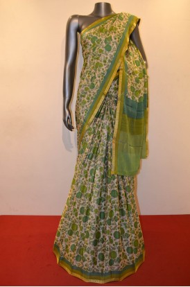 Exclusive Pure Printed Crepe Silk Saree
