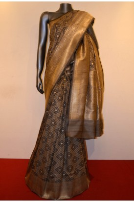 Exclusive & Special Handloom Pure Tussar Silk Saree