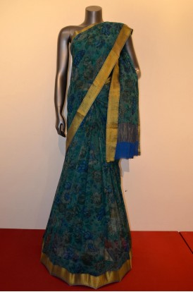Exclusive & Special Floral Pure Silk Chiffon