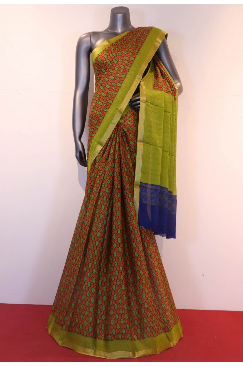 Exclusive Classic Printed Pure Silk Saree