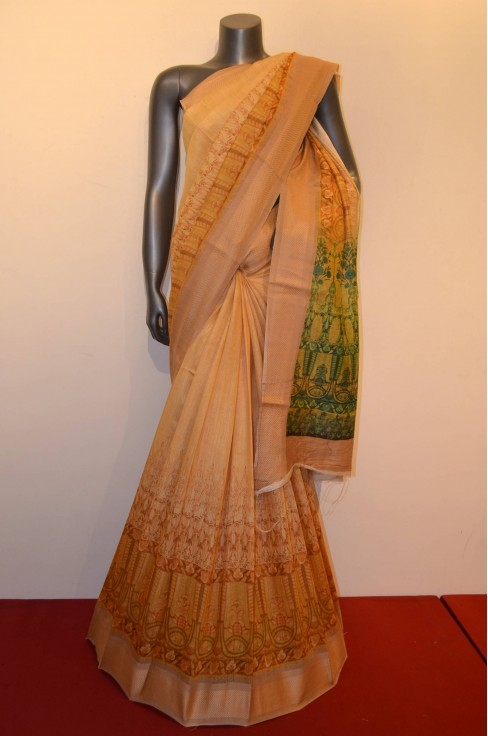 Exclusive Party Wear  Tussar P..