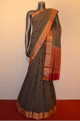 Designer & Grand Tissue Special Crepe Silk Saree