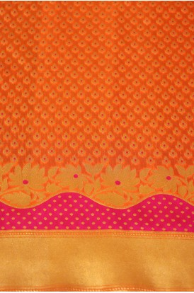 Exclusive Banarasi Silk Fabric W-44-45 Inches
