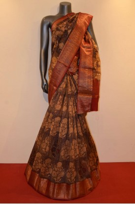 Exclusive  Handloom Pure Cotton Saree