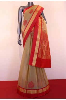 Exclusive Handloom Pure Silk Cotton Saree