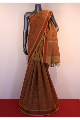 Special & Classic Thread Village  Pure Silk Cotton Saree