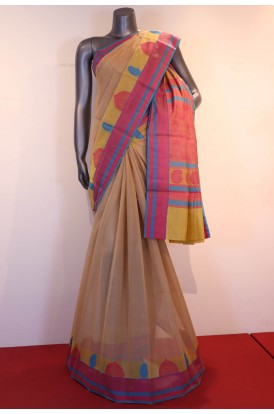 Exclusive Thread Weave Handloom Pure Silk Cotton Saree