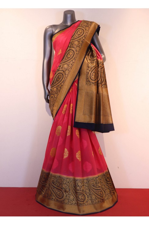 Designer Art Tussar Silk Saree..