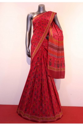 Exclusive Floral Prints Pure Crepe Silk Saree
