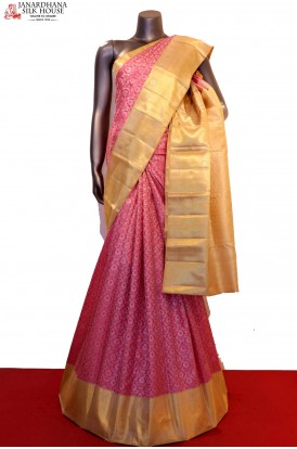 Exquisite & Designer Bridal Kanjeevaram Silk Saree