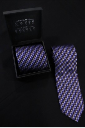 Exclusive Printed Pure Silk Tie - 1 Tie & Gift Set Box