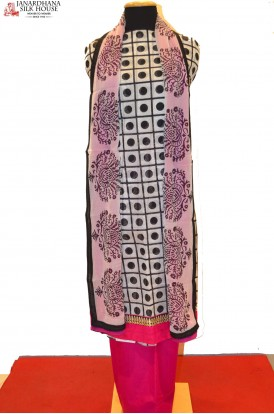 Fancy Party Wear Printed Cotton Suit