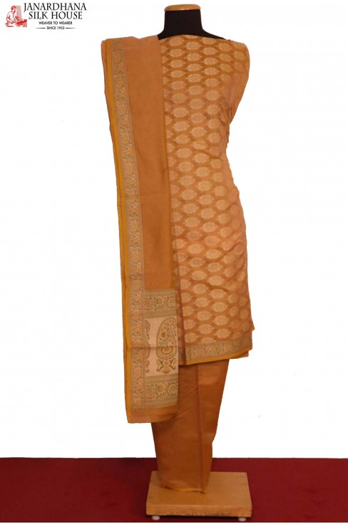 Exclusive Banarasi Pure Cotton Suit
