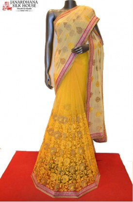AA210302-Designer Party Wear Net Saree