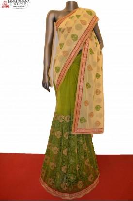 Designer Party Wear Net Saree