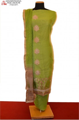 Exclusive & Special Embroidery Pure Cotton Suit