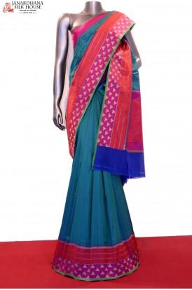 Designer Handloom Banarasi Silk Saree