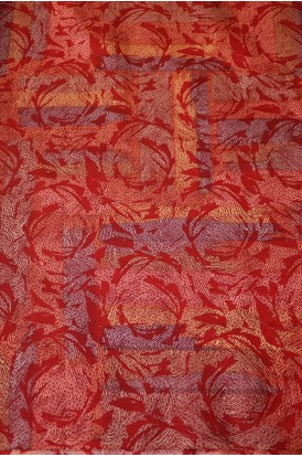 Exclusive Pure Printed Silk Fabric- Width-44-Inches