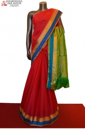 Special Thread Weave Classic Pure South Silk Saree