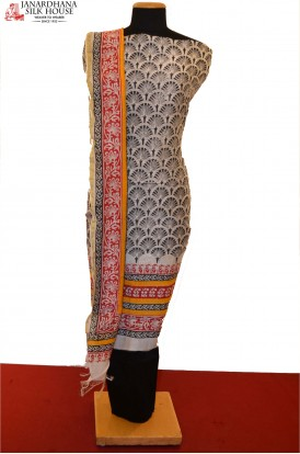 Classic Printed Pure Cotton Suit