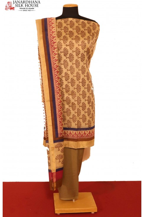 Printed Pure Cotton Suit..