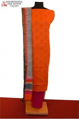 AB200631-Classic Printed Pure Cotton Suit