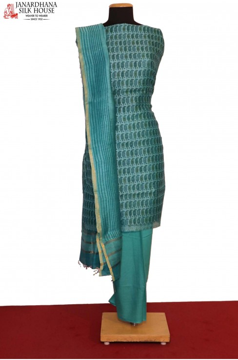 AB200812-Exclusive Printed Pure Cotton Suit