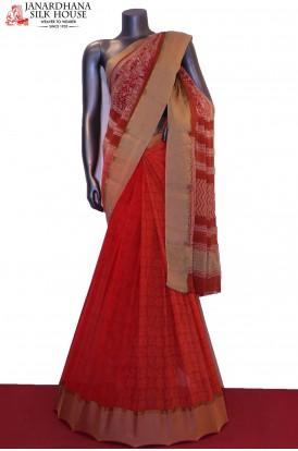 Patli Designer Pure Georgette Silk Saree