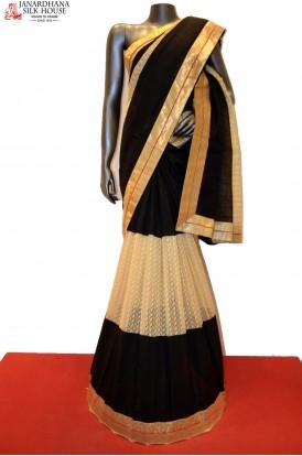 AB207764-Designer Party Wear Tussar Saree