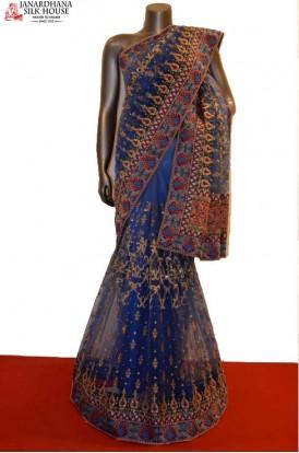 AB208689-Designer Party Wear Net Saree