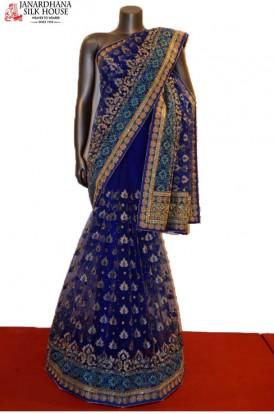 AB208700-Designer Party Wear Net Saree