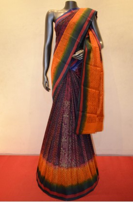 Beautiful Pure Tussar Digital Print Silk Saree