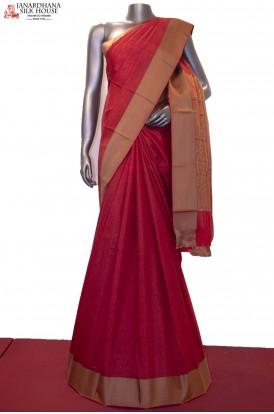 Thread Weave Exclusive Pure Printed Silk Saree