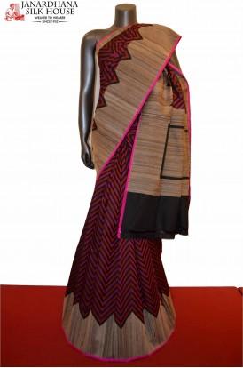 Special Handloom Grand Tussar Pure Silk Saree