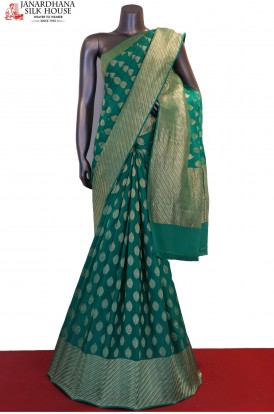 Designer Pure Georgette Silk Saree