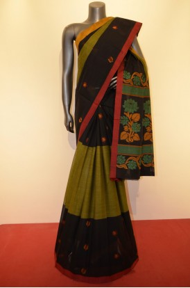 Beautiful Handloom Village Pure Cotton Saree